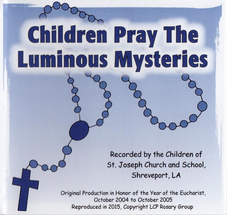 Luminous Mysteries cover art